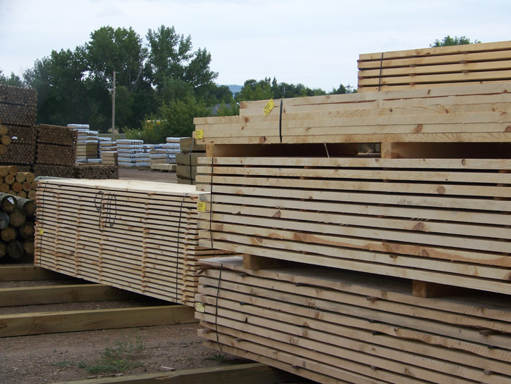 Rough Sawn Lumber and Edged Slabs